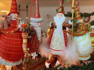 Weihnachtszauber in der Stube von Elisabeth von Allmen. Bild: zvg