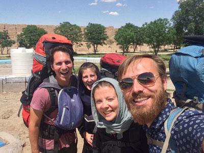 Mit Steffi und Oli in Kashan