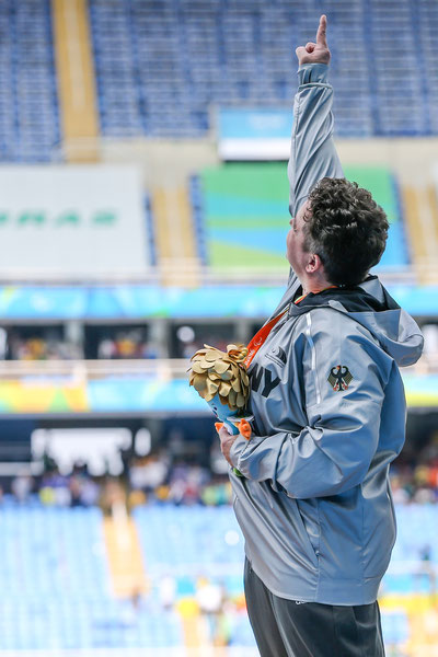 Siegerehrung Paralympics Rio 2016