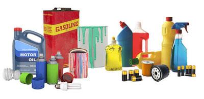 Productos químicos peligrosos