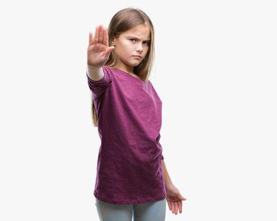 Karate als Selbstverteidigung für Kinder