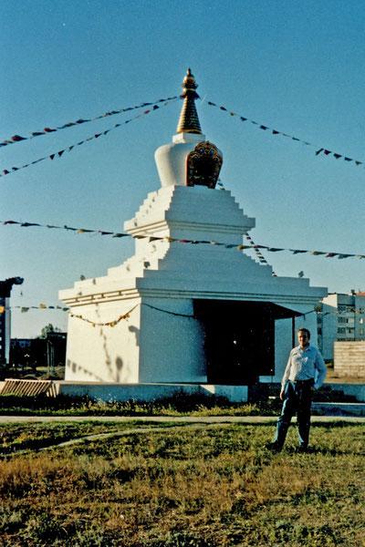 Stupa Elista 2003 Kalmückien