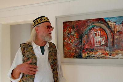 Kursleiter Maler Robert Eckert-Köhler