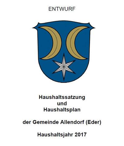 Haushalt Allendorf (Eder) 2017
