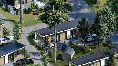 Te koop vakantiewoning incl. eigen koopkavel, parkeerplaats, aansluitkosten en tuinaanleg in Garderen op de Veluwe!