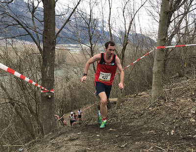 Philipp Meixner, hier bei den Crosslauf-Staatsmeisterschaften vor 4 Wochen in Innsbruck