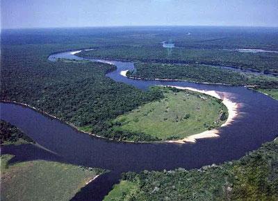 rio guaporé fronteira brasil bolívia em rondônia