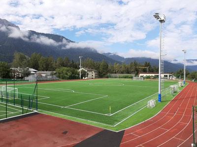 American Football Trainingslager Sportpark Trainingscamp als Höhentrainingslager