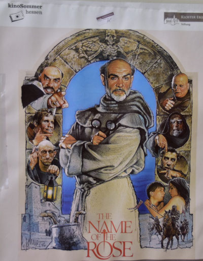 """Filmplakat zum Film """"Der Name der Rose"""""""
