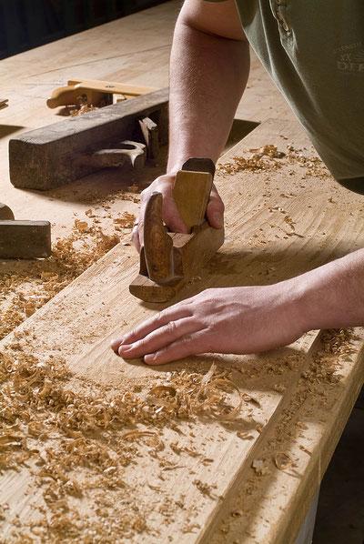 Fendt Holzgestaltung Oberflächenstruktur Dielenboden
