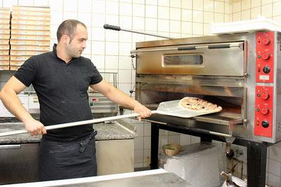 Steinofenpizza