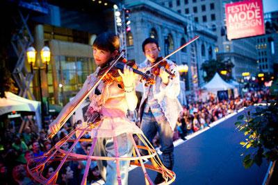 Festival Mode et Design sur l'Avenue McGill