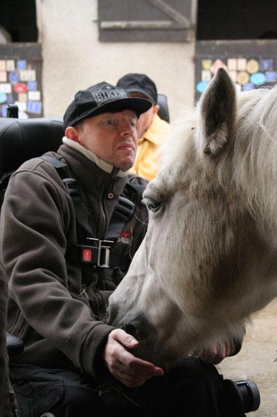 Magie de la relation avec le cheval...