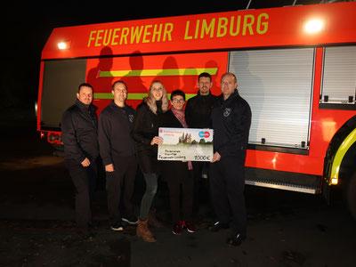 v.links: Heiko Sabel, Marc Saltenberger, Helena Klein, Angela Ulloa, Stephan Meurer, Tobias Meffert