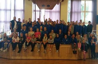 Blaue Funken Hamm, Karneval, Tanzen, Garde, Blau Weiss, Hamm, NRW, BRK, BDK, Termine, Tanzsport, Gesang