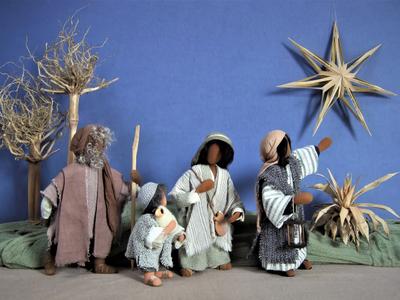 Die Weihnachtsgeschichte in 12 Szenen dargestellt. Bild: zvg