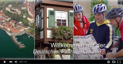 Impressionen von der Deutsche Fachwerkstraße auf YouTube - lassen Sie sich inspirieren!