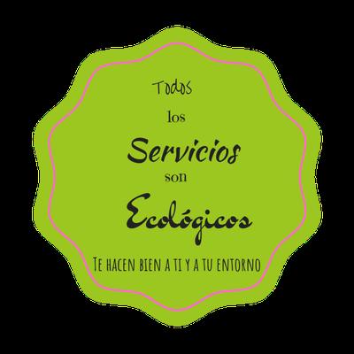 Imagen redonda que indica ecología en los servicios de coaching