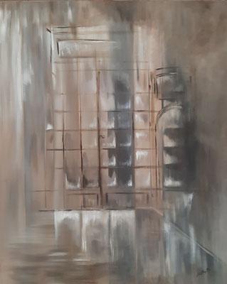 Boutique / 65 x 80 cm / Huile / Prix : 200 euros