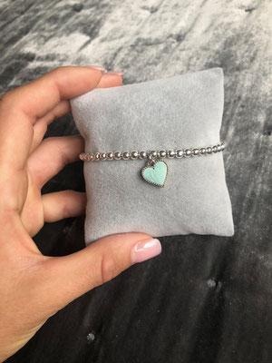 Perlenarmband Tiffany Style