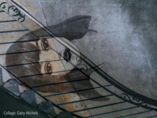 """Gaby Michels - Fotocollage """"Der Traum"""""""