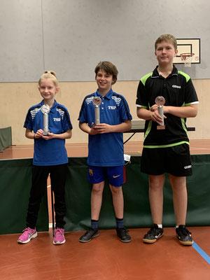 Erfolgreiche Tischtennis-Jugend-Kreismeisterschaften 2021 für die SG Rodenberg