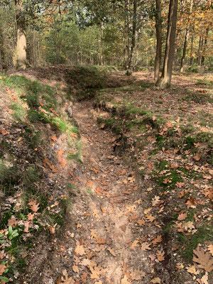 De loopgraven op de Kattenberg