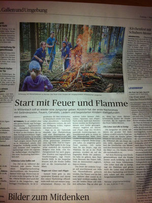 Tagblatt April 2015