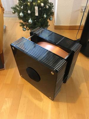 ModalAkustik MusikBass RiPol Subwoofer black copper acryl