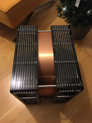 ModalAkustik MusikBass RiPol Subwoofer black copper