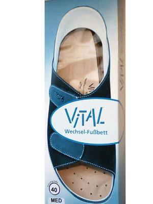 Vital Leder Fußbett Einlage * Beratung und Tipps zu diesem Produkt erhalten Sie im Geschäft