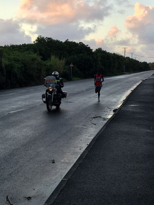 Bild: Mauritius Marathon Sieger Albert Kangor