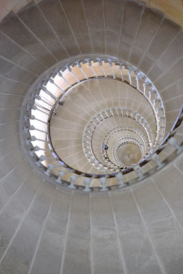 Das Treppenhaus vom Phare des Baleines