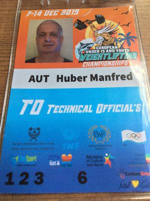 Technical Official Huber Manfred (KSV-Rum)