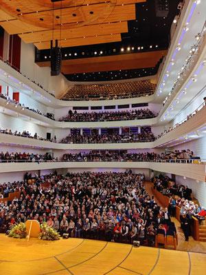 Konzertsaal kurz vor Konzertbeginn