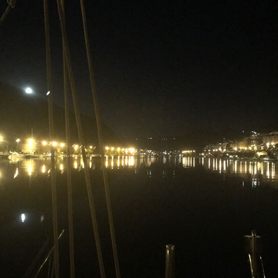 Ombla River by Night / Nachtszenerie