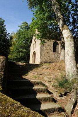 Fontaine-Daniel - the chapel