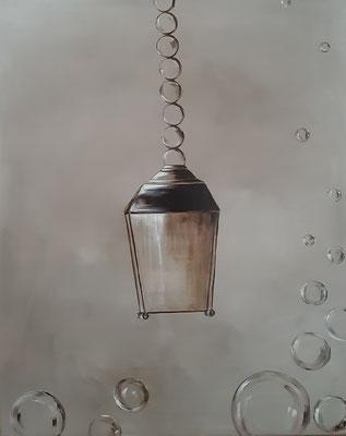 Lanterne / 80 x 65 cm / Huile / Prix : 400 euros