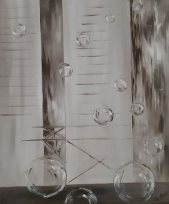 Persienne / 60 x 72 cm / Huile / Prix : 100 euros