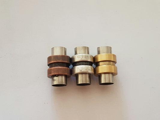 Magnetverschluss Antik in Bronze und gold 6,00€ (silber ausverkauft) - Edelstahl
