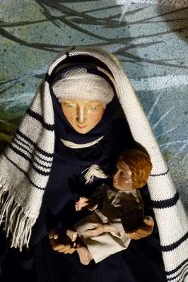 Rückkehr der heiligen Familie aus Ägypten in der Krippe von Sankt Maria Lyskirchen (Idee und Gestaltung Benjamin Marx)