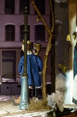 Die Krippe in Lyskirchen am 18. Januar 2020 (Idee und Gestaltung Benjamin Marx)