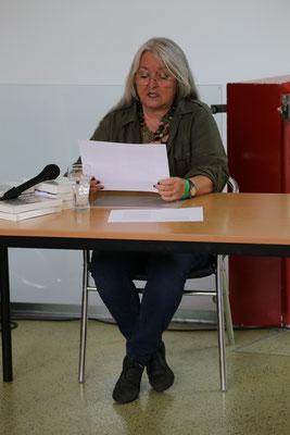 "Andrea Wolfmayr liest aus ""Rückfall"""