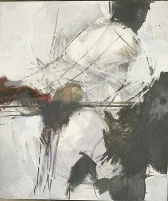 Ohne Titel, 1991, Öl auf Leinwand, 140 x 120 , Privatbesitz