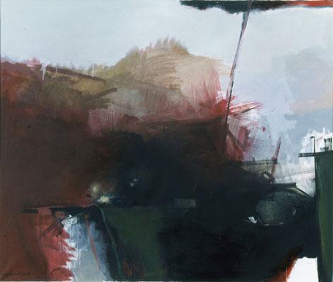 Ohne Titel, 1997, Öl auf Leinwand, 120x140, Privatbesitz