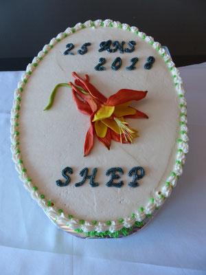 La SHEP souligne son 25e anniversaire...