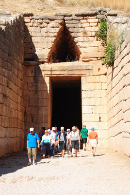 Das Schatzhaus des Atreus / Kuppelgrab des Agamemnon