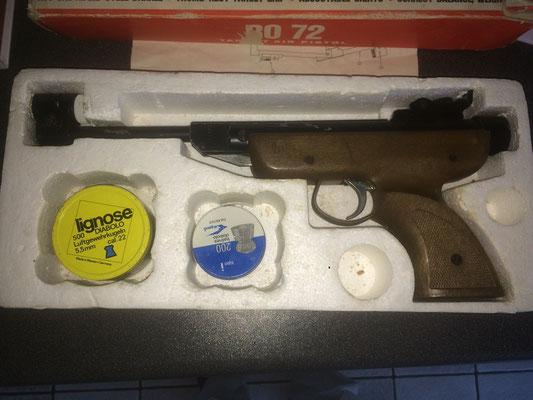ro-72 luchtdrukpistool onbewerkt
