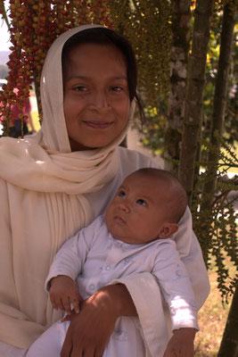 Maria mit dem sehr braven Jesuskind