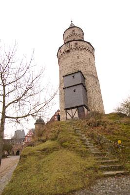 木組みの町イトシュタイン「魔女の塔」